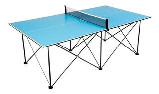 Mesa de ping pong Ping Pong T8465 azul eléctrico