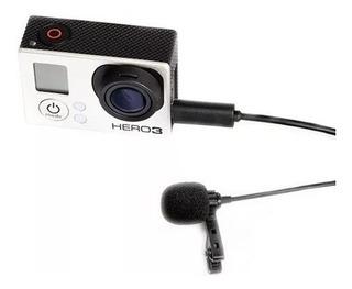 Microfono Compatible Para Gopro Mini Usb + Clip Collar