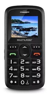 Telefone Celular Preto De Idoso Vita 3g Dual Chip Simples