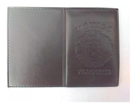 Porta Pasaporte Elegante Funda Protector Mexicana Azteca