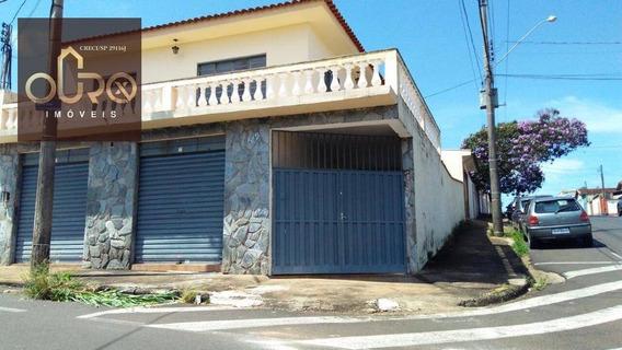 Sobrado Residencial À Venda, Vila Aparecida, Franca. - So0007