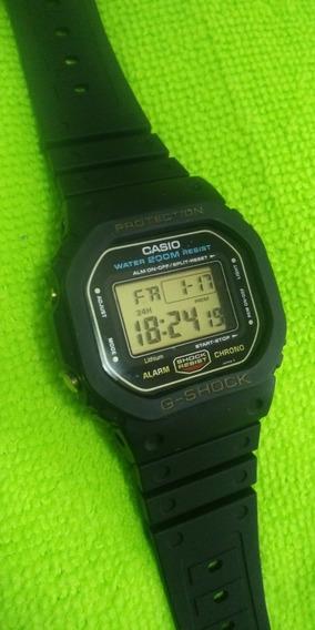 Relógio Casio G-shock Dw 5600 Fundo Rosca Bonito Leia