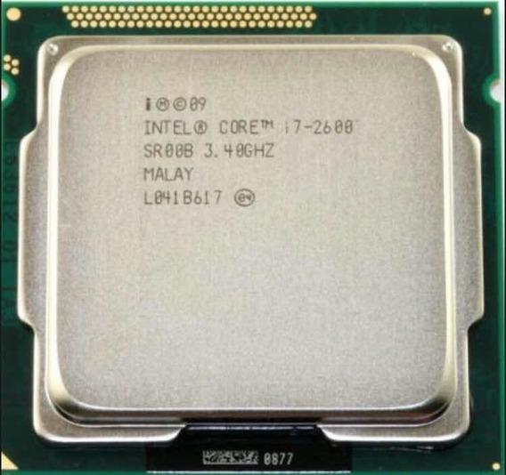 Processador Intel Core I7 3.4 2600 2ª Geração + Cooler