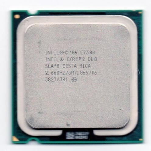 Processador Intel Core 2 Duo E7300 2.66ghz Lga 775 Fsb 1066