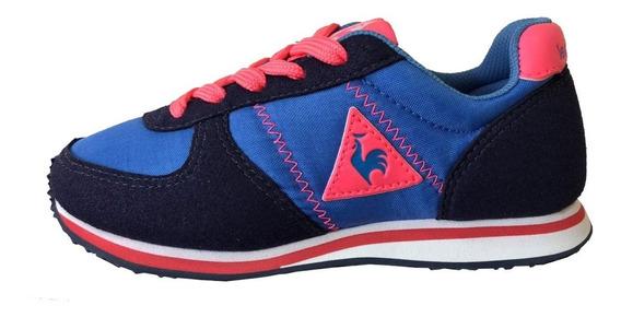Zapatillas Le Coq Sportif Bolivar Niños Azul (7596)