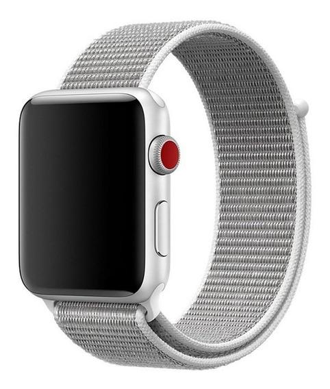 Smart Watch Band Correa De Nylon Trenzado Bucle Pulsera Acce