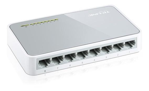 Switch 8 Bocas Tp-link Tl-sf1008d - Aj Hogar
