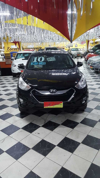 Hyundai Ix35 2.0 Gls 2wd Aut. Ano 2010 Preta 5 Portas