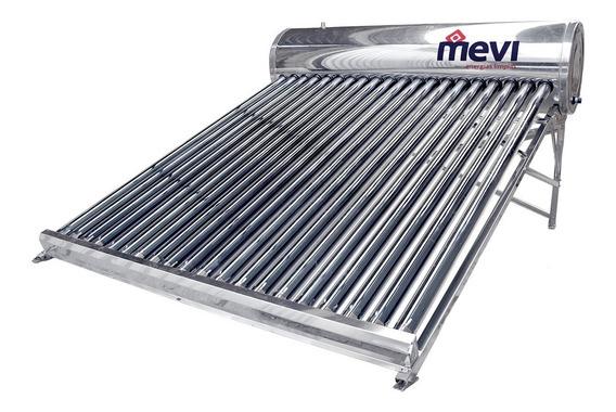 Calentador Solar Mevi / 20 Tubos - 240 Lts / 6 Personas