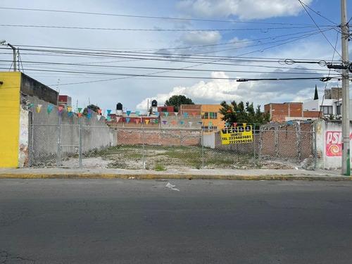 Vendo Terreno, Excelente Ubicacion 505m Zona Centro Puebla