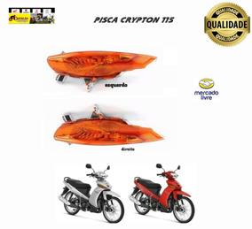 Pisca Dianteira Yamaha Crypton 115 2010 - Par