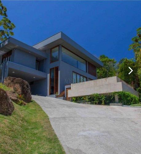 Casa Com 4 Dormitórios À Venda, 375 M² Por R$ 4.500.000,00 - Campeche - Florianópolis/sc - Ca0787