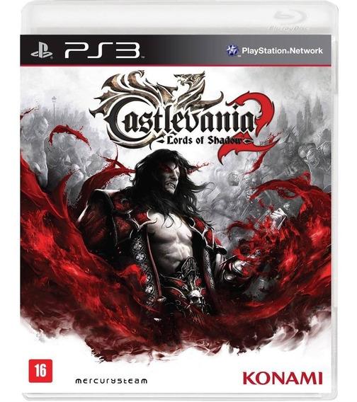 Castlevania Lords Of Shadow 2 Ps3 Mídia Física Português