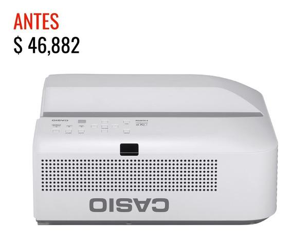 Proyector Casio Lampfree Xj-ut352wn Tiro Ultra Corto
