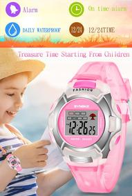 Relógios Infantil Digital Led Sports À Prova D