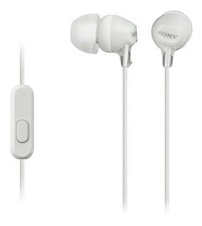 Audífonos Sony MDR-EX14AP white