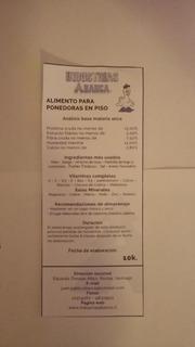 Alimento Para Gallinas Ponedora 20 Kilos De Maiz Barratisimr