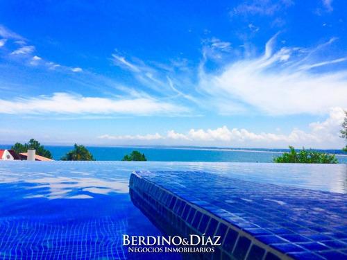 Importante Residencia Con La Mejor Vista De Punta Ballena- Ref: 462