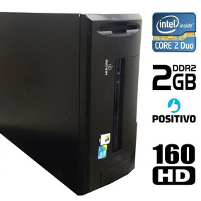 Desktop Positivo 775 Core 2 Duo 2 Gb Hd 160