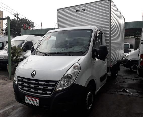 Renault Master 2.3 Baú 2018 Muito Nova