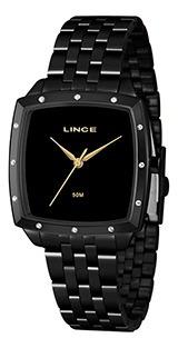 Relógio Fem Lince Puls Aço 50m Ref. Lqn620l-p1px