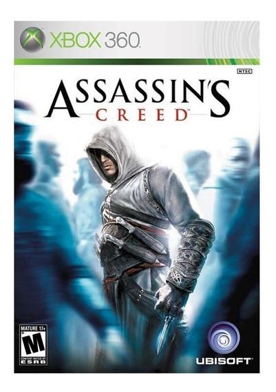 Assassins Creed - Xbox 360 - Novo - Mídia Física - Saldão