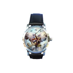 Relógio São Miguel Arcanjo Proteção Católica Espírita Devoto