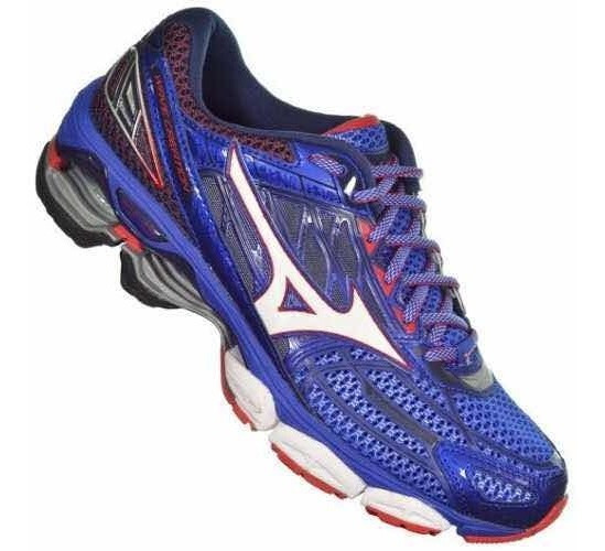 Tênis Masculino Mizuno Wave Creation 19 - Azul - Original