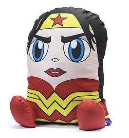 Almofada Geek Mulher Maravilha Heroi Boneco De Pelucia