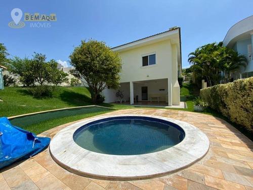 Imagem 1 de 30 de Casa À Venda, 316 M² Por R$ 1.650.000,00 - Condomínio Campos De Santo Antônio - Itu/sp - Ca1467