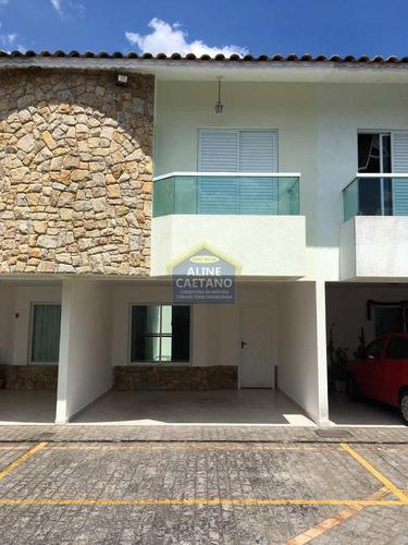 Casa Condomínio 3 Dorms 2 Vagas, Canto Do Forte!! - Vact014193