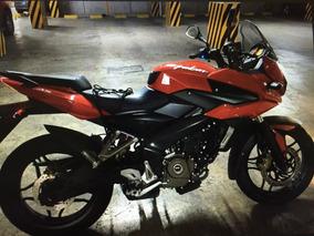 Moto Seminueva Pulsar Roja 3,500 Kilometros Recorridos