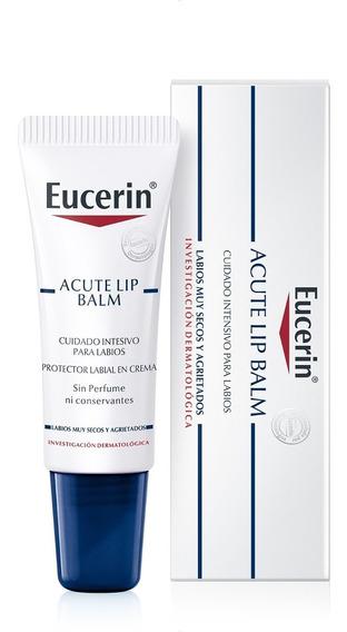 Eucerin Acute Lip Balsamo Labial Para Labios Secos 10ml