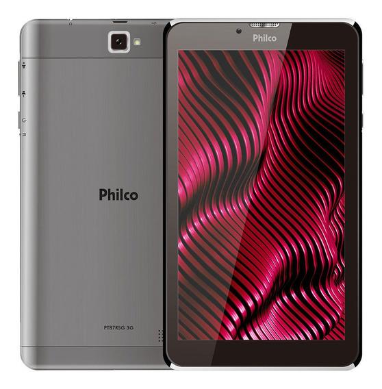 Tablet Tela 7 16gb Philco Ptb7rsg Android Pie 9.0 Cinza