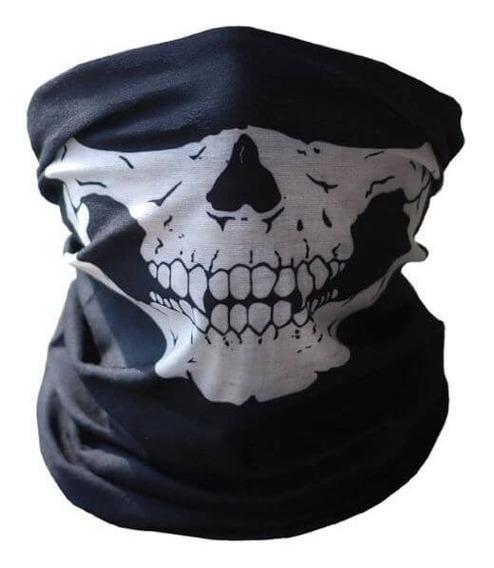 Bufanda Mascara Calavera Esqueleto Pasamontana Motociclista
