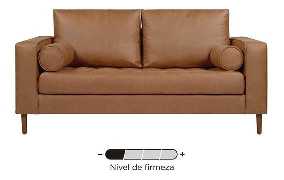 Sofa Gaia Landero Sala 3 Cuerpos Rustico Moderno Lounge Cafe