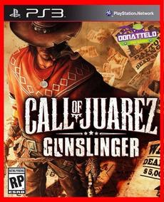 Call Of Juarez Gunslinger Jogos Ps3 Psn Envio Rapido!