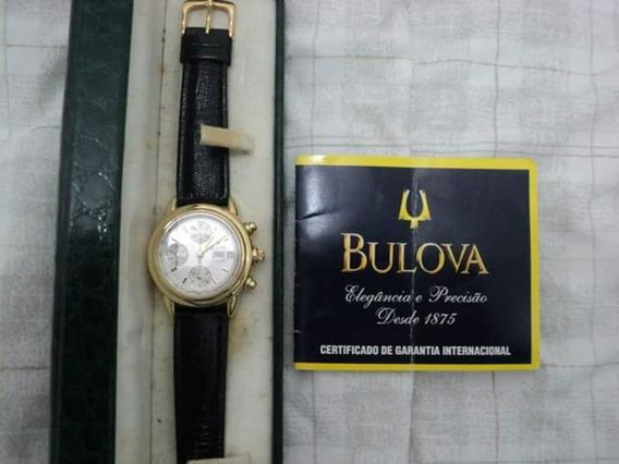 Relógio Bulova Suiço Ouro