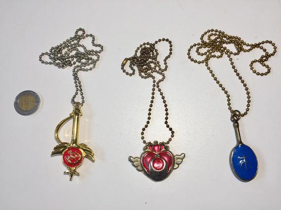 Sailor Moon Collares Lote Dije Anime Japonés Usados