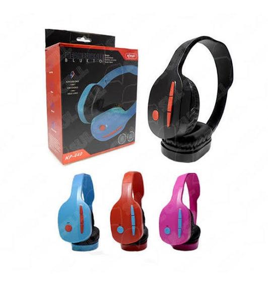 Kit Com 5 Fones Bluetooth Kp440.