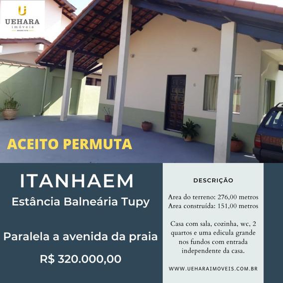 100 Metros Da Praia Em Itanhaem!