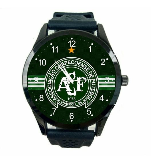 Relógio Chapecoense Feminino Barato Futebol Esporte Fc T653