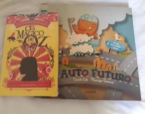 2 Livros Infantil, O Mágico De Oz E Auto Futuro-promoção!