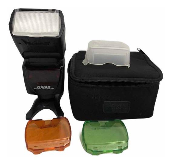 Flash Nikon Sb 700 C Difusor + Case Impecável