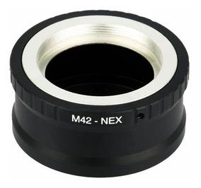 Anel Adaptador De Lentes M42 Para Câmeras Sony Nex/e-mount