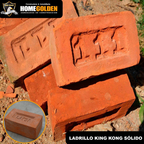 Imagen 1 de 1 de Ladrillo King Kong Pandereta Pastelero Ladrillo De Techo