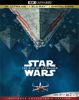 Star Wars Episode Ix Rise Of Skywalker 4k Ultra Hd + Blu-ray