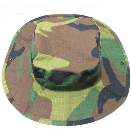 Boonie Hat Chapéu Selva Woodland Tradicional By Bravo21