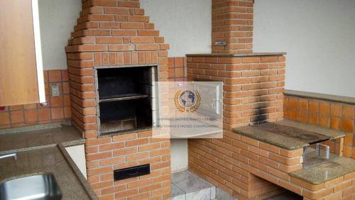 Casa Com 2 Dormitórios À Venda, 137 M² Por R$ 450.000,00 - Betel - Paulínia/sp - Ca0931