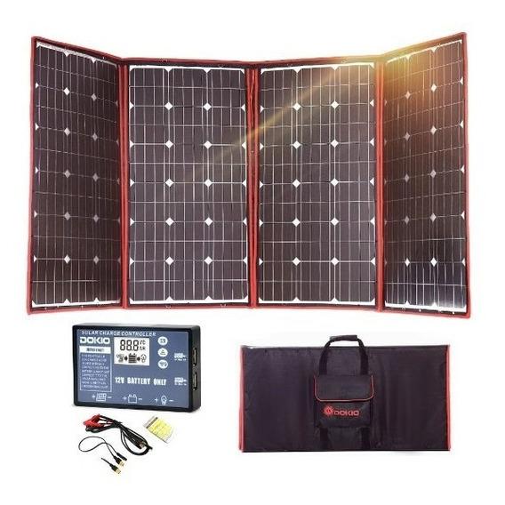 Dokio 300w 18v Flexível Painel Solar Portátil Ao Ar Livre